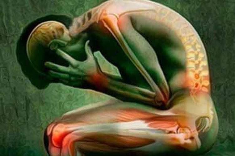Dolori fisici causati dalla depressione.